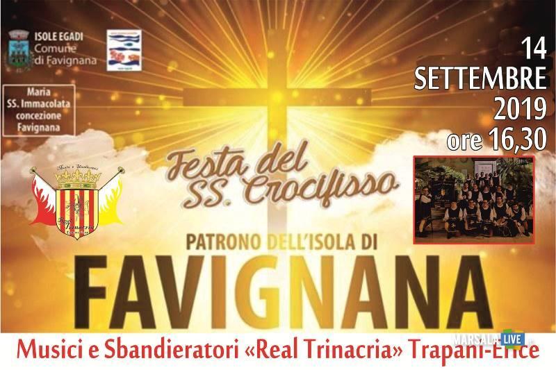 Festa del SS Crocifisso a Favignana 2019