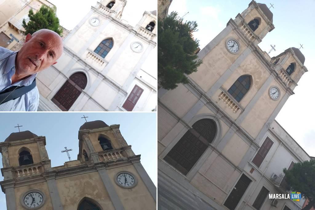 Gaspare Barraco, I pilastri dei due campanili della chiesa di Strasatti