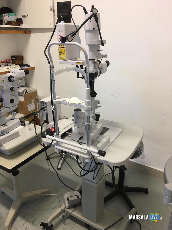 Glaucoma - S. Antonio Abate trapani nuovo raggio laser