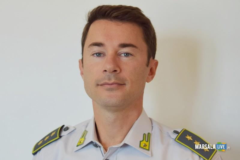 Guardia di Finanza, comandante gruppo Marsala, Capitano Francesco Dascanio (1)
