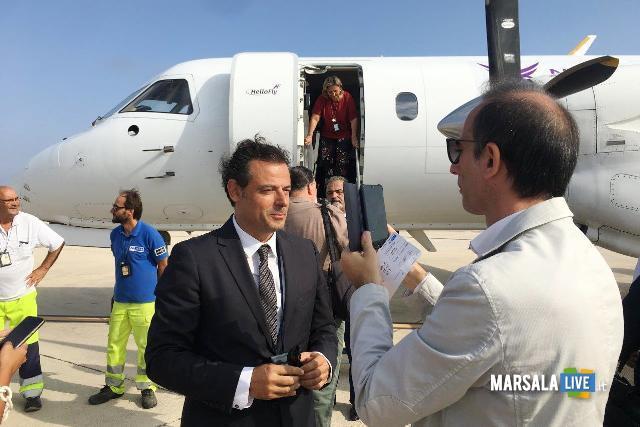 Hellofly, inaugurato volo Trapani Birgi Napoli Capodichino (2)