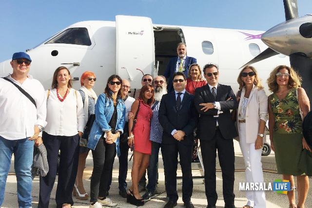 Hellofly, inaugurato volo Trapani Birgi Napoli Capodichino (3)