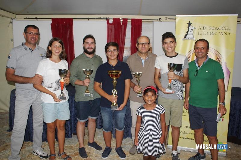 I Premiati del XVLII Scacco Matto