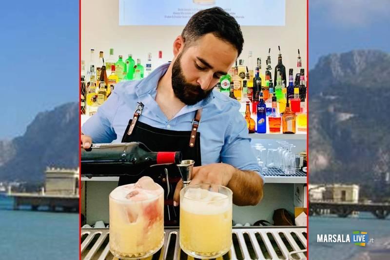Il barman Roccardo Catania, Charleston di Mondello - Cantine Pellegrino