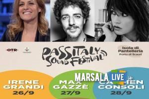 Irene Grandi, Max Gazzé, Carmen Consoli - Passitaly 2019, pantelleria