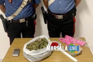 Leonardo Oddo-domiciliari-droga-spacciava-arrestato-alcamo