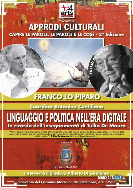 Linguaggio e politica nell'era digitale-In ricordo dell'insegnamento di Tullio De Mauro