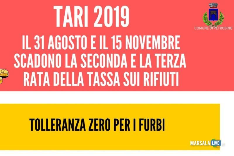 Manifesto Tari 2019 - Petrosino