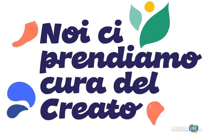 Manifesto progetto creato Caritas - trapani