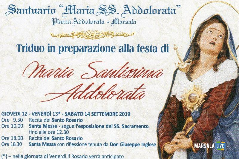 Maria Santissima Addolorata - marsala