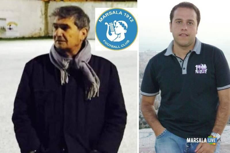 Marsala Calcio, vito Cucchiara e Arturo Vadalà