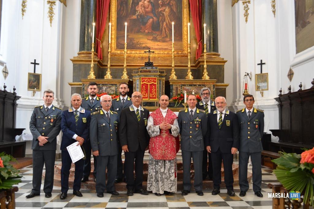 Marsala, Messa Guardia di Finanza chiesa di San Matteo