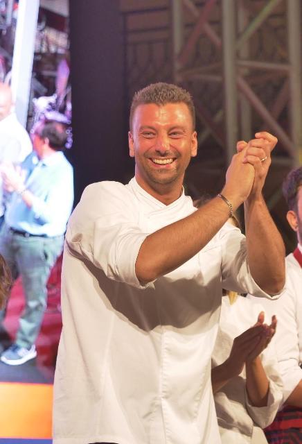 Massimiliano Poli vincitore del Campionato italiano di cous cous