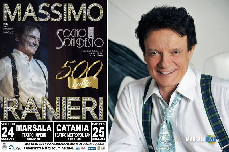 Massimo Ranieri in concerto al Teatro Impero di Marsala