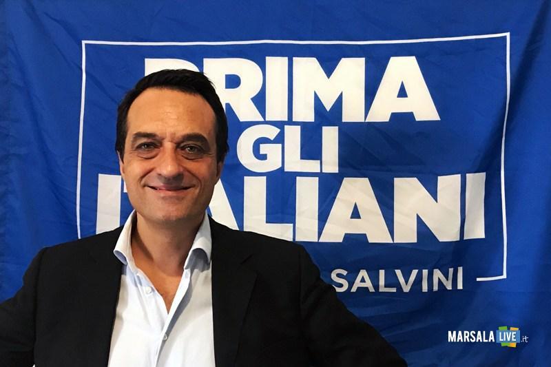 Mauro Plescia, commissario della Lega a Marsala