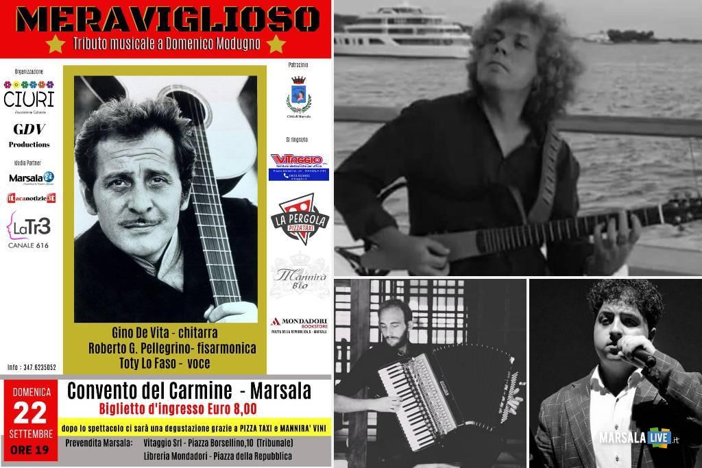 Meraviglioso-Tributo Domenico Modugno, Gino De Vita, Toty Lo Faso, Roberto Pellegrino