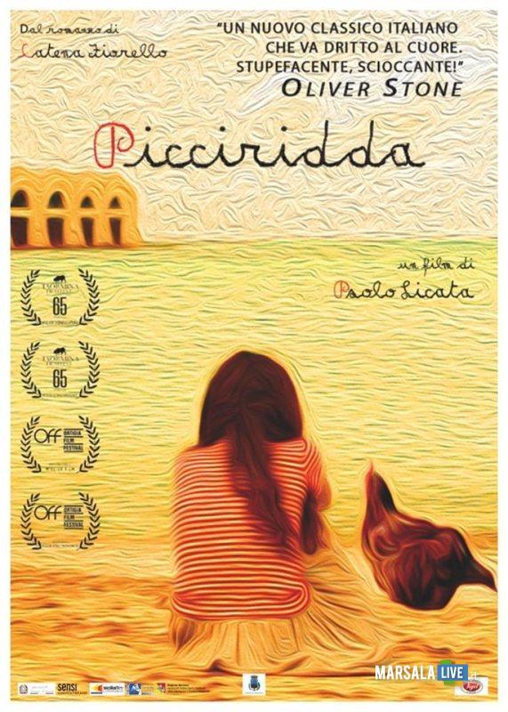 Picciridda locandina, favignana fiorello Catena 2019