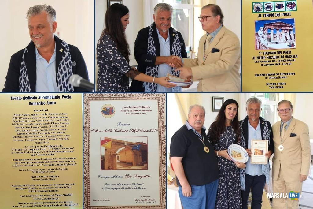 Premio Arco della Cultura Lilybetana a Vito Scarpitta