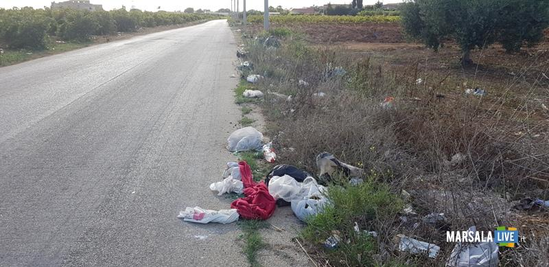 Rifiuti abbandonati a Marsala, antonino gerardi (2)
