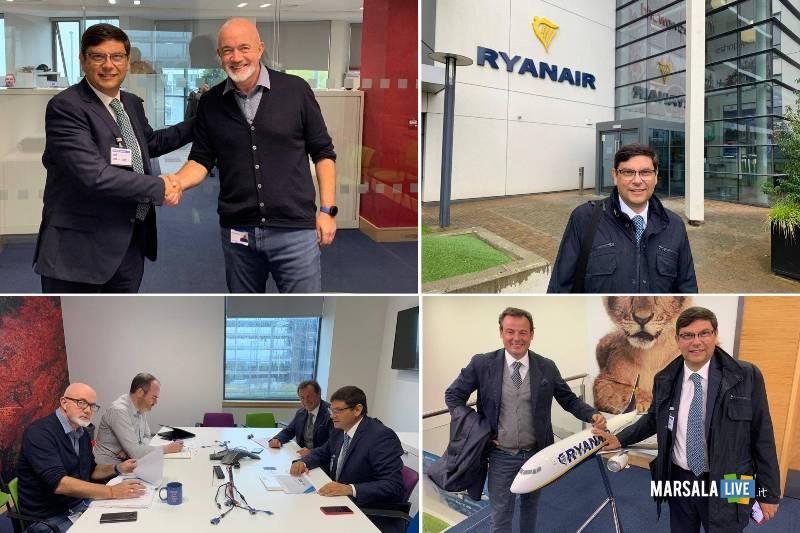 Ryanair, aeroporto Trapani-Birgi, salvatore Ombra