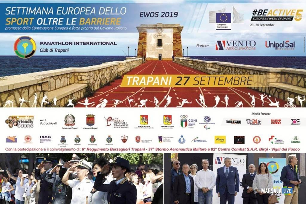 Settimana Europea dello Sport oltre le Barriere