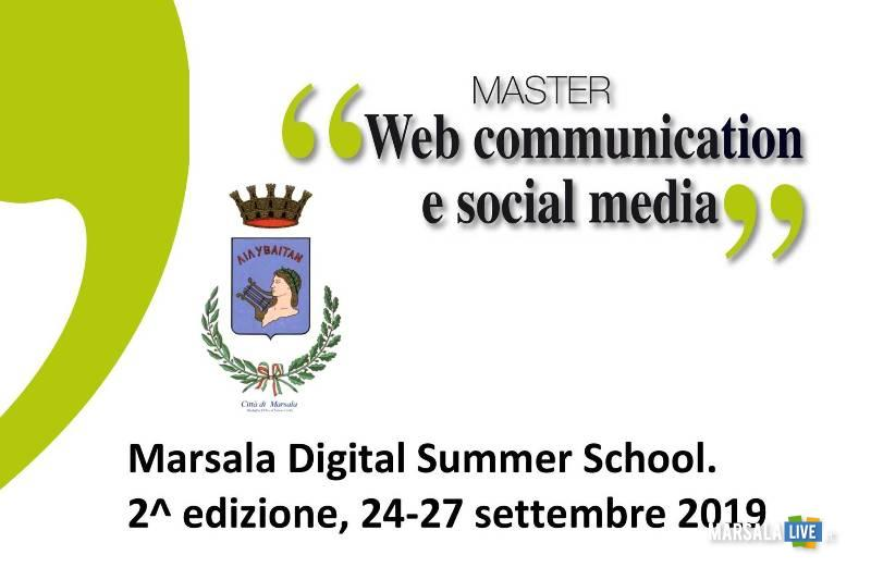 Sicily Digital Summer School, Marsala edizione 2019