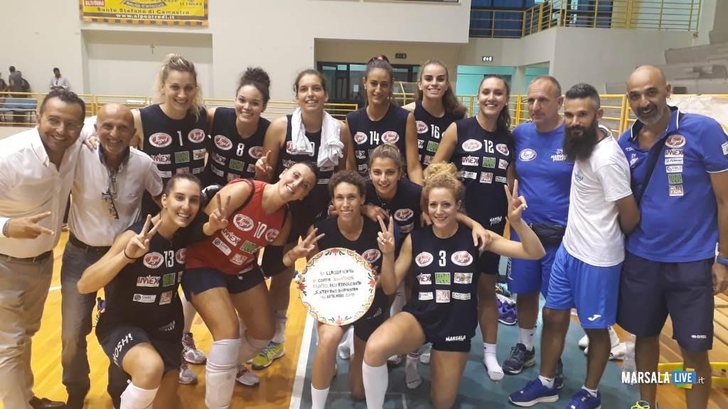 Sigel Marsala Volley, Coppa Nigithor 2019