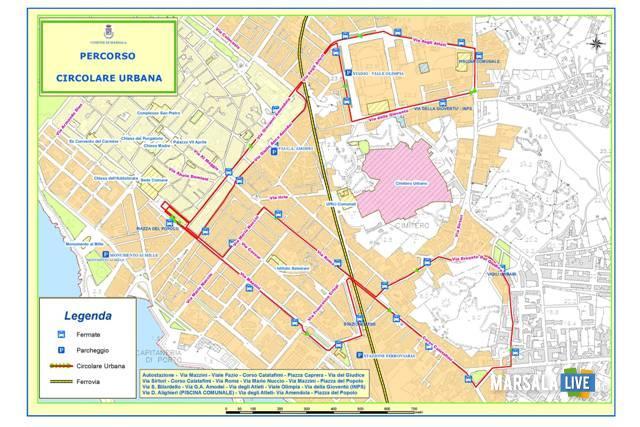 Trasporto urbano a Marsala, 2019 2020