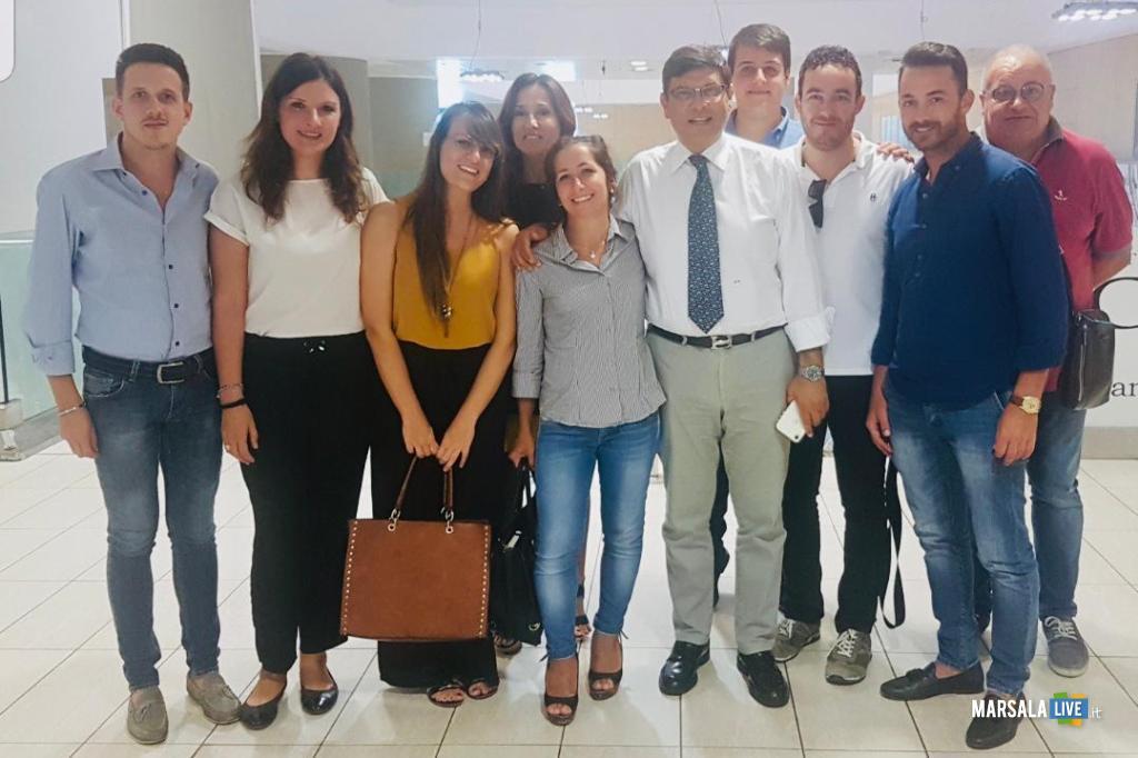 Under 40 di Trapani incontrano il Presidente Airgest Salvatore Ombra