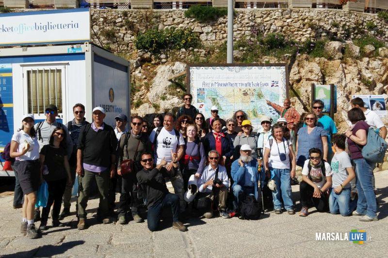 Wwf a Marettimo, attività escursionistiche (4)