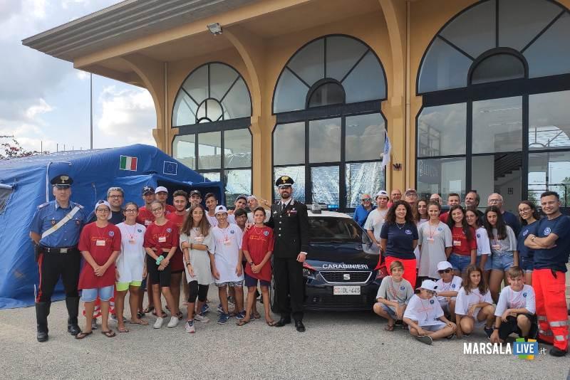campo scuola legalità protezione civile carabinieri mazara del Vallo (2)