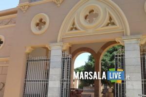 cimitero di Marsala, ingresso