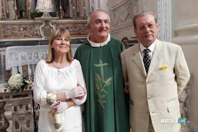 don Francesco Fiorino, Rita Anna Mangogna e Gaspare Bannino (1)