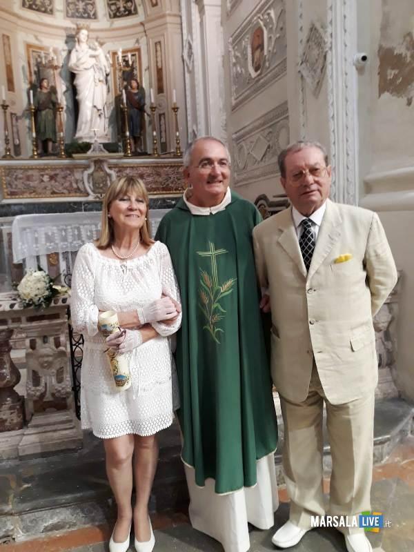 don Francesco Fiorino, Rita Anna Mangogna e Gaspare Bannino (2)