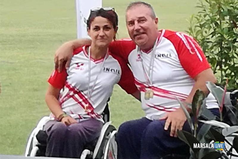 i neo campioni d'Italia Veronica Floreno e Nino Lisotta