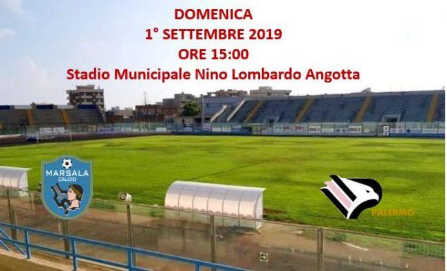 Calcio: oggi Marsala – Palermo, il derby di Sicilia