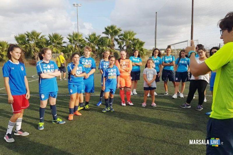 marsala calcio femminile, scuola open day