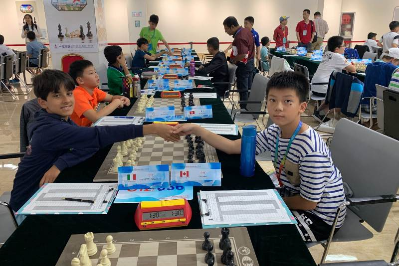 marsalese Giuseppe Salvato in Cina, scacchi (4)