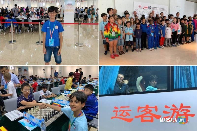 marsalese Giuseppe Salvato in Cina, scacchi