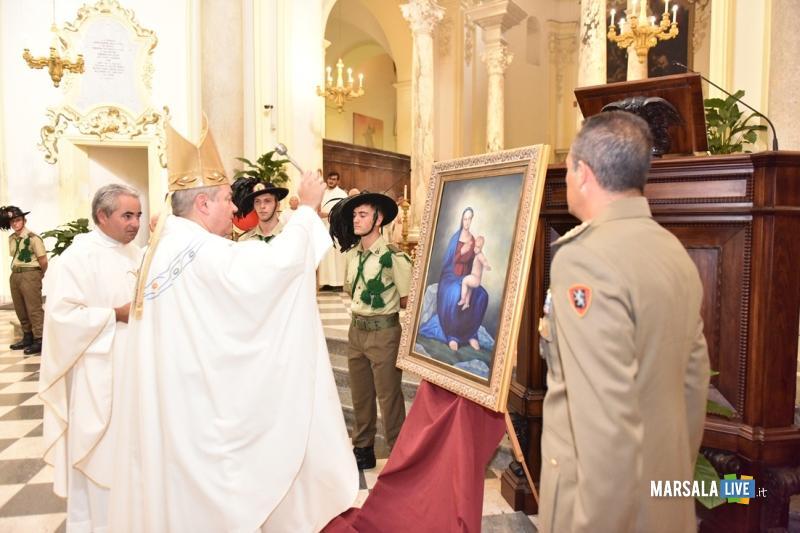 momento della Santa Messa trapani