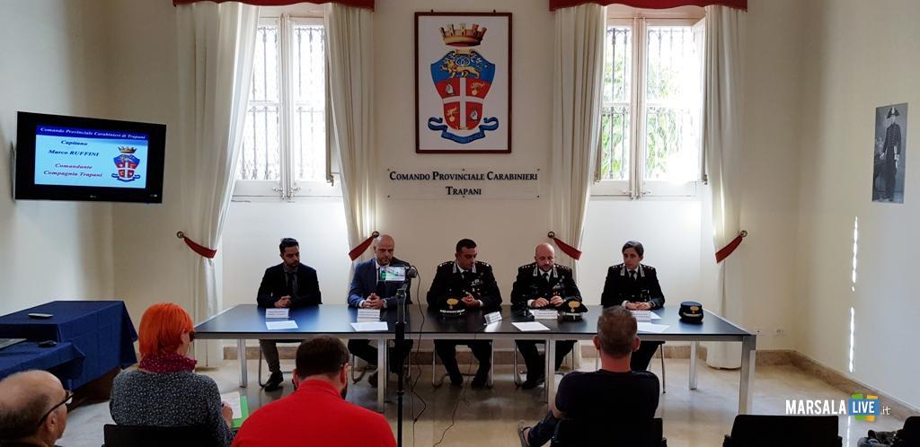 nuovi Ufficiali Comando provinciale dei Carabinieri Trapani.