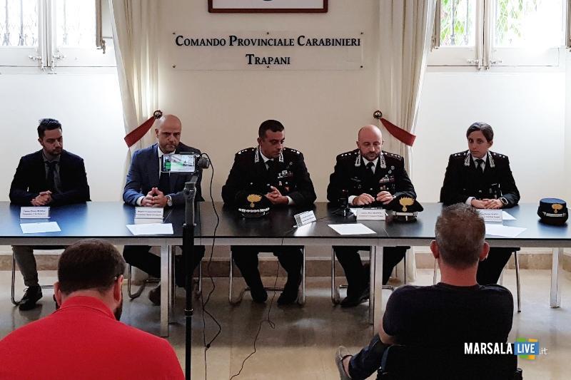 nuovi Ufficiali Comando provinciale dei Carabinieri Trapani