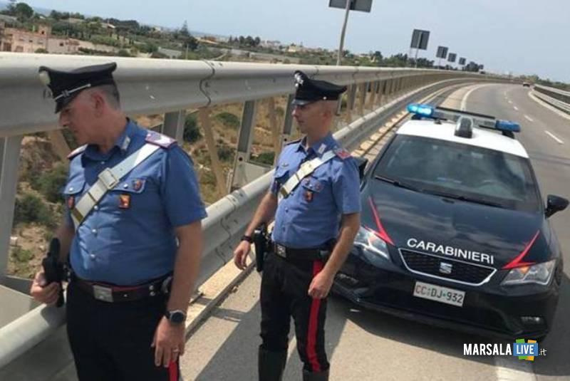 ponte mazara - carabinieri
