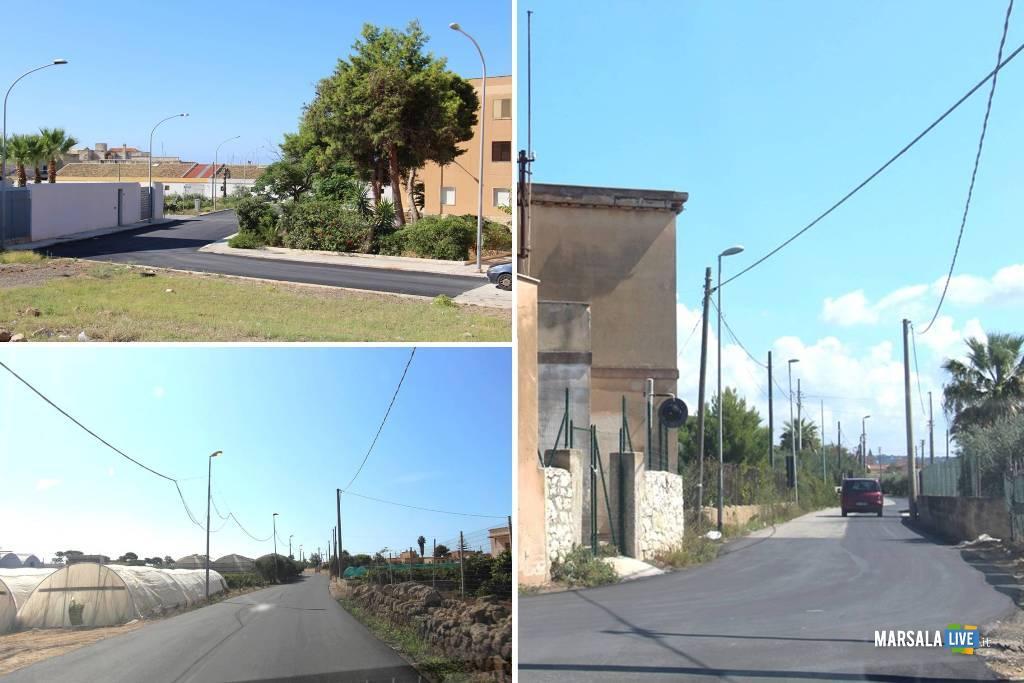 rifacimento strade a Marsala