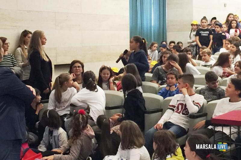 Alcamo Scuolaplasticfree, Palmeri volontari MareVivo (2)