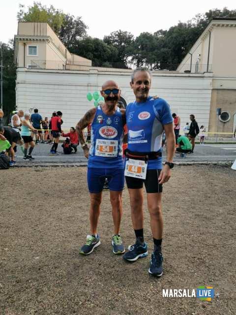 - Atl. - Michele D'Errico e Damiano Ardagna alla 50 km di Roma