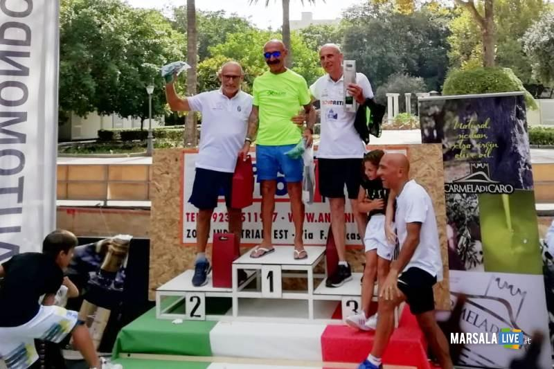 - Atl. - Michele D'Errico sul gradino più alto del podio