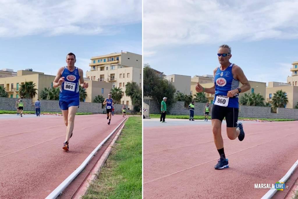 Atleti della Polisportiva Marsala Doc al Campo coni di Trapani