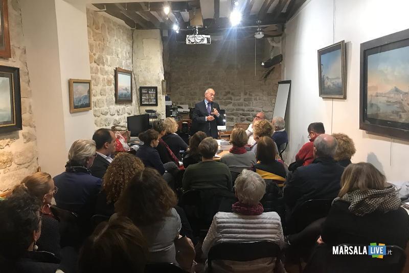 Diego Maggio, presentato il libro al centro di cultura italiana a Parigi, Francia