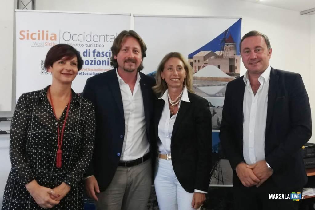 Distretto Turistico - Germana Abbagnato, Manlio Messina, Rosalia D'Alì, Giuseppe Pagoto